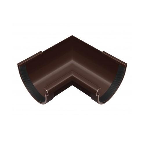 Кут внутрішній 90 RainWay коричневий 130 мм