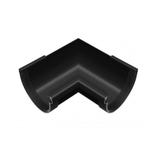 Кут внутрішній 90 RainWay графітовий 130 мм
