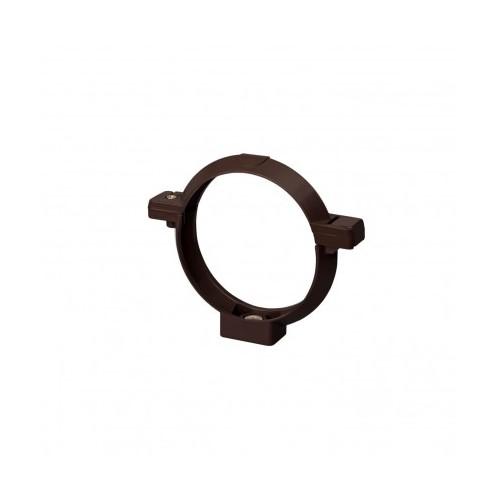 Кронштейн  труби RainWay  коричневий 100 мм