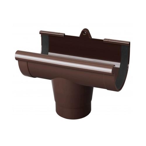Лійка ринви RainWay  коричнева 130 мм
