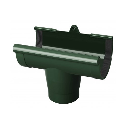 Лійка ринви RainWay зелена 130 мм