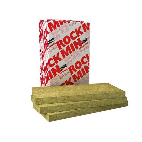 Базальтова вата Роквул (Rockwool) ROСKMIN PLUS 100x610x1000 мм (6,1 м.кв.)