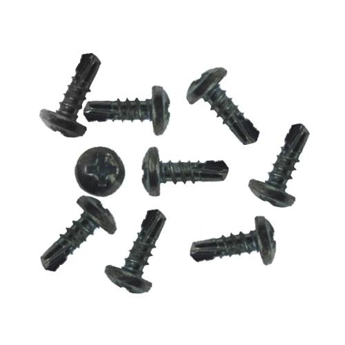 Самонаріз по металу з буром 3,5х9,5 мм чорні (1000 шт)