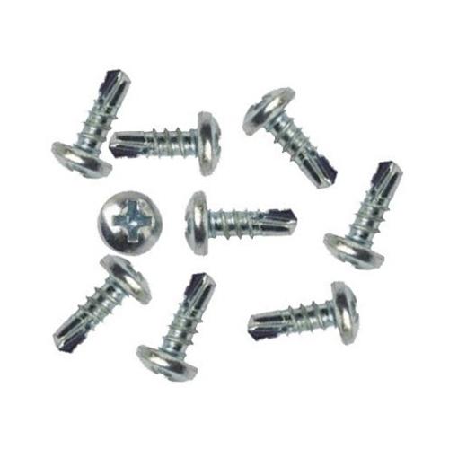 Самонаріз по металу з буром 3,5х9,5 мм білі (1000 шт)