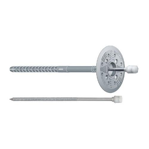 Дюбель термоізоляційний Wkret-met з металевим цвяхом 10х200 мм (200 шт)
