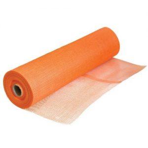 Склосітка фасадна Fiberglas комірка 5х5 мм помаранчева 50 м