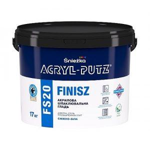 Шпаклівка Акрил Путс (Acryl-Putz) фініш FS20, 27 кг
