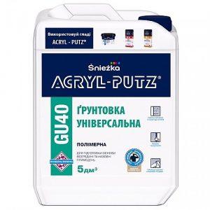 Грунтовка Акрил Путс (Acryl-Putz) GU40 полімерна універсальна 1 л