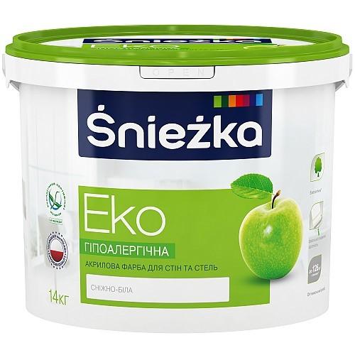 Фарба Снєжка (Sniezka) ЕКО акрилова 3 л