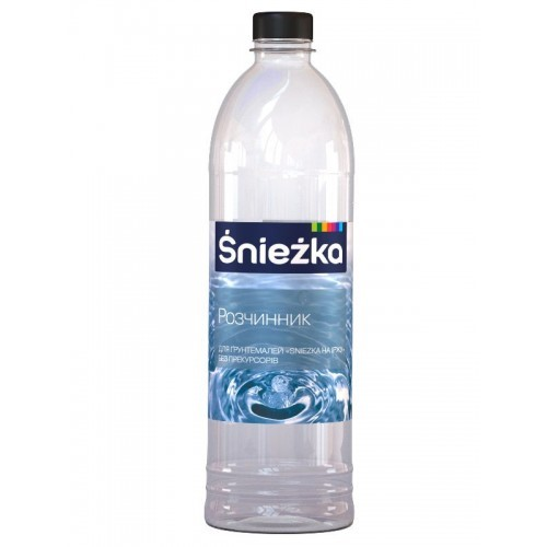 Розчинник для грунтемалей Снєжка (Sniezka) на іржу безбарвний 0,36 кг