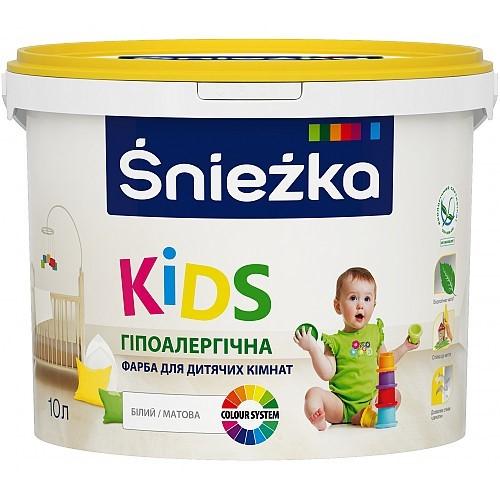 Фарба Снєжка (Sniezka) KIDS для дитячих кімнат 3 л