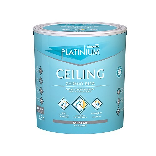Фарба Снєжка (Sniezka) PLATINIUM® CEILING 5 л