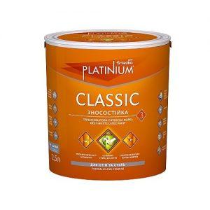 Фарба Снєжка (Sniezka) PLATINIUM® CLASSIC 10 л