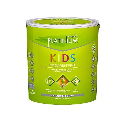 Фарба Снєжка (Sniezka) PLATINIUM® KIDS 5 л