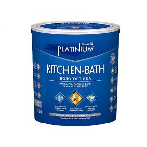 Фарба Снєжка (Sniezka) PLATINIUM® KITCHEN-BATH 5 л