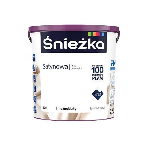 Фарба Снєжка (Sniezka) SATYNOWA 2,5 л