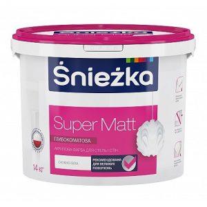 Фарба Снєжка (Sniezka) SUPER MATT акрилова 10 л