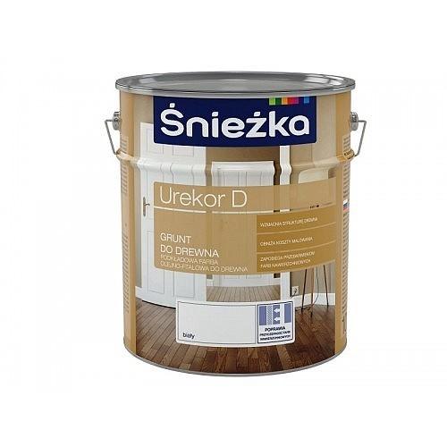 Грунтовка Снєжка (Sniezka) Urekor D для деревини біла 1 л