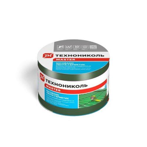 Стрічка герметизуюча Техноніколь NICOBEND зелена довжина 10 м ширина 10 см