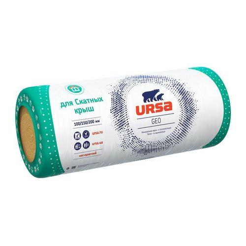Мінеральна вата Урса (URSA) GEO Екодах 100/600/9600 мм (12 м.кв.)