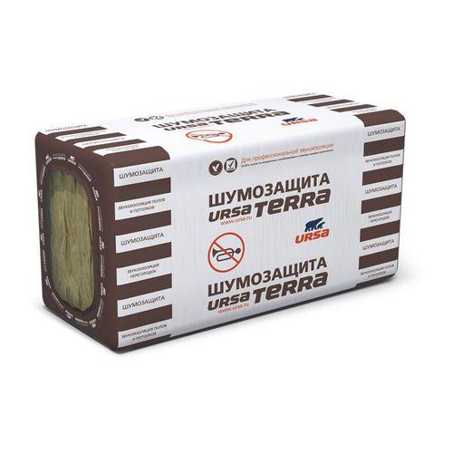 Мінеральна вата Урса (URSA) Terra 34 шумозахист 50/610/1041 мм (7,62 м.кв.)