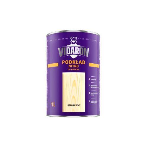 Грунтовка Відарон (Vidaron) нітро для деревини безбарвна матова 1 л
