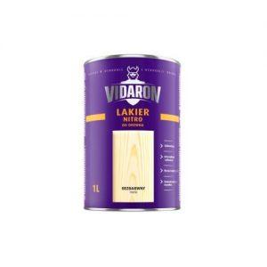 Лак Відарон (Vidaron) нітро для деревини безбарвний глянець 1 л