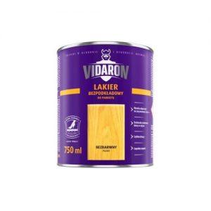 Лак Відарон (Vidaron) для паркету безбарвний напівматовий 2,5 л