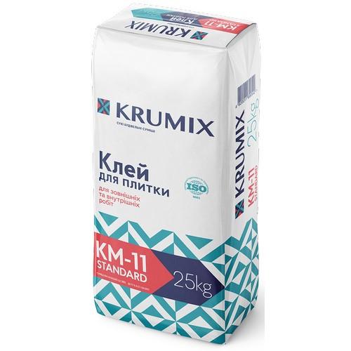 Клей Крумікс (Krumix) КМ-11 стандарт для плитки 25 кг