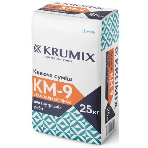 Клей Крумікс (Krumix) КМ-9 для плитки 25 кг