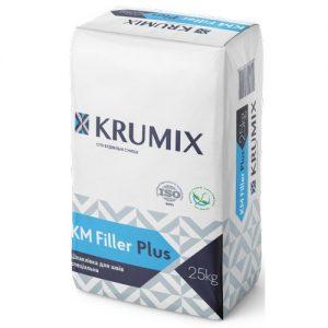 Крумікс КМ Filler Plus Шпаклівка для швів спеціальна 25кг