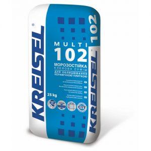 Клей Крайзель (Kreisel) 102 для плитки та мозаїки Multi 25 кг