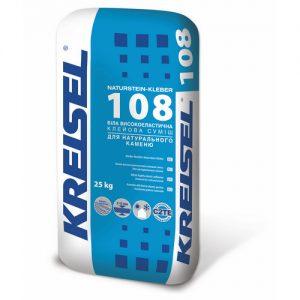 Клей Крайзель (Kreisel) 108 для натурального каменю Naturstein-Kleber 25 кг