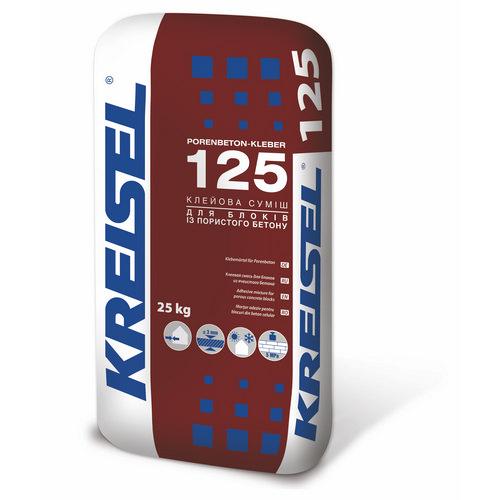 Кладочна суміш Крайзель (Kreisel) 125 для газобетона 25 кг