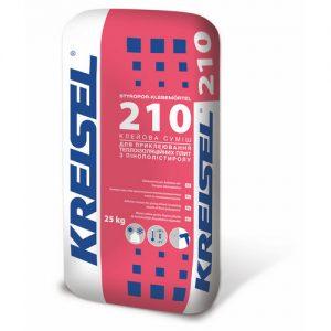 Клей Крайзель (Kreisel) 210 для  пінополістирольних плит 25 кг