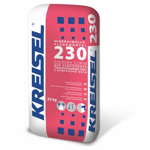 Клей Крайзель (Kreisel) 230 для мінеральної вати 25 кг