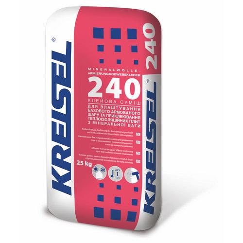 Суміш Крайзель (Kreisel) 240 для армування мінеральної вати 25 кг