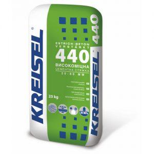 Стяжка Крайзель (Kreisel) 440 цементна високоміцна Estrich-Beton 25 кг