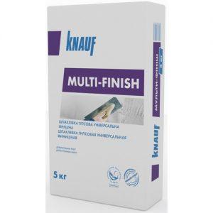 Шпаклівка  Кнауф (Knauf) мульти-фініш 5 кг