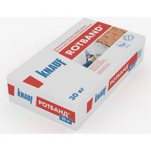 Штукатурка Кнауф (Knauf) ротбанд 30 кг